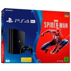 PlayStation 4 Pro Bundle (1 Tb, Spider-Man), , Консоли